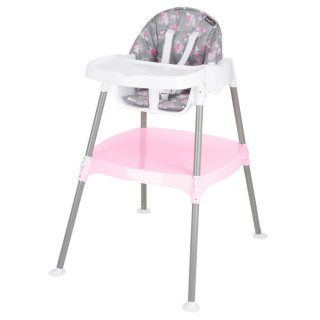 4-in-1 Eat & Grow Convertible High Chair (Poppy Floral)