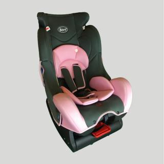 Born asiento de auto rosado.