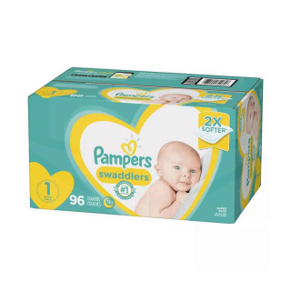 Panales pampers swaddlers talla 1