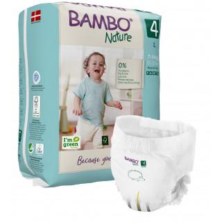 Pants bambo nature talla 4 g 7 a 14kg