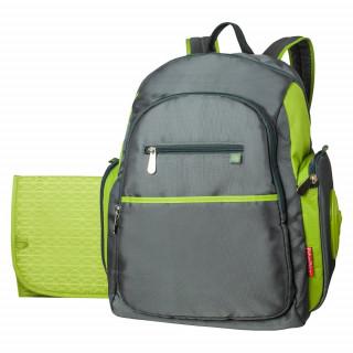 Panalera mochila verde.