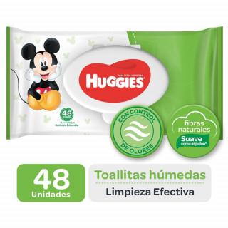 Toallas huggies active fresh 12x48