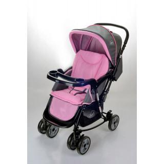 Born coche mecedora rosado
