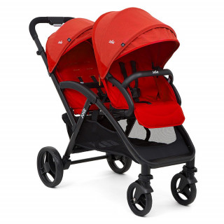 COCHE 2 BEBES EVALITE DUO LYCHEE.