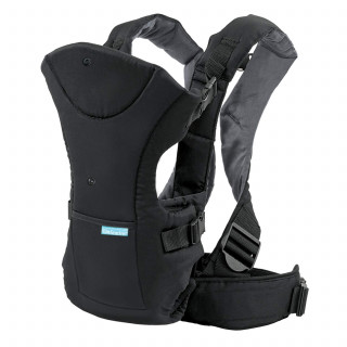 CANGURO FRONT/BACKPACK NEGRO.