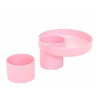 Bandeja multiuso rosada