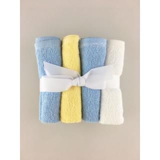 PANITOS X 4 BLUE YELLOW BLUE WHITE