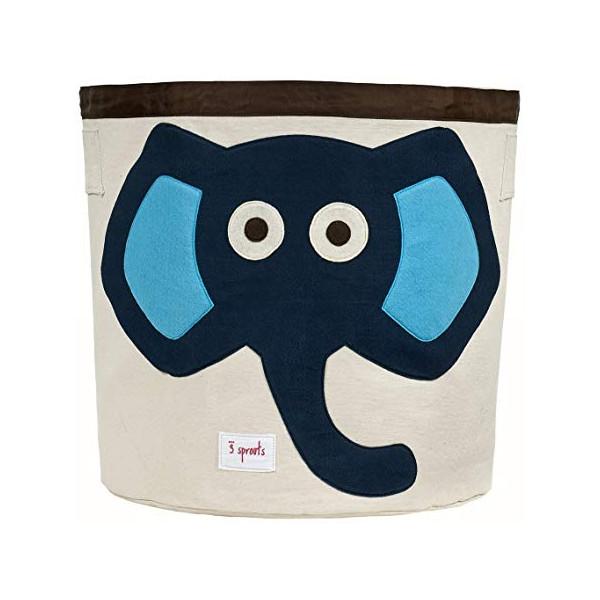 Organizador  para juguetes elefante.