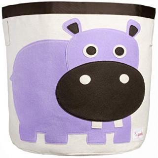 Organizador  para juguetes hipopotamo.