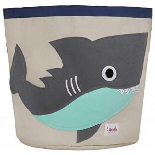 Organizador  para juguetes tiburon.
