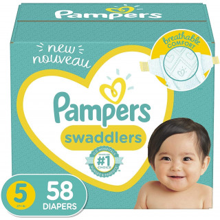 Panales pampers swaddlers talla 5 x 58