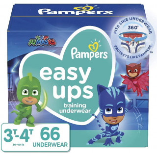 Panales pampers easyup 3t4t nino x 66