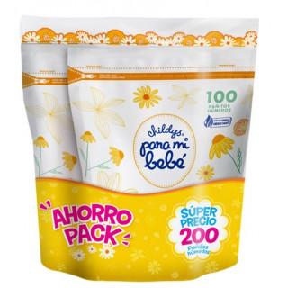 Pack panitos humedos para mi bebe x 200